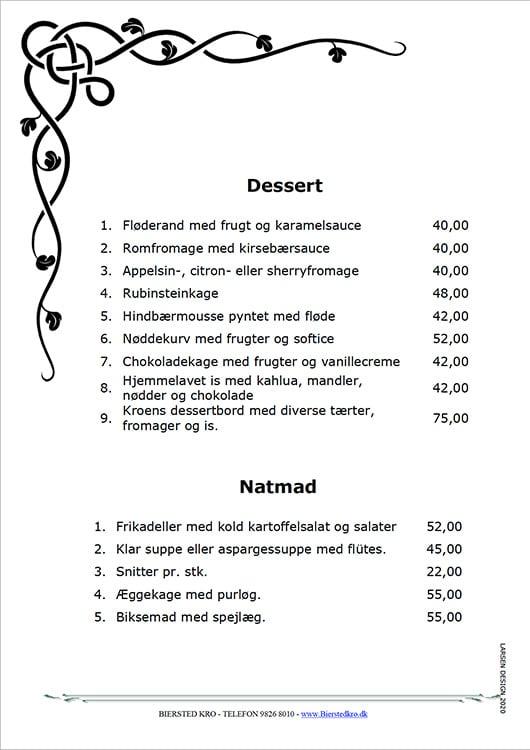 Dessert mad ud af huset Nørresundby