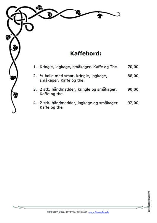 Kaffebord