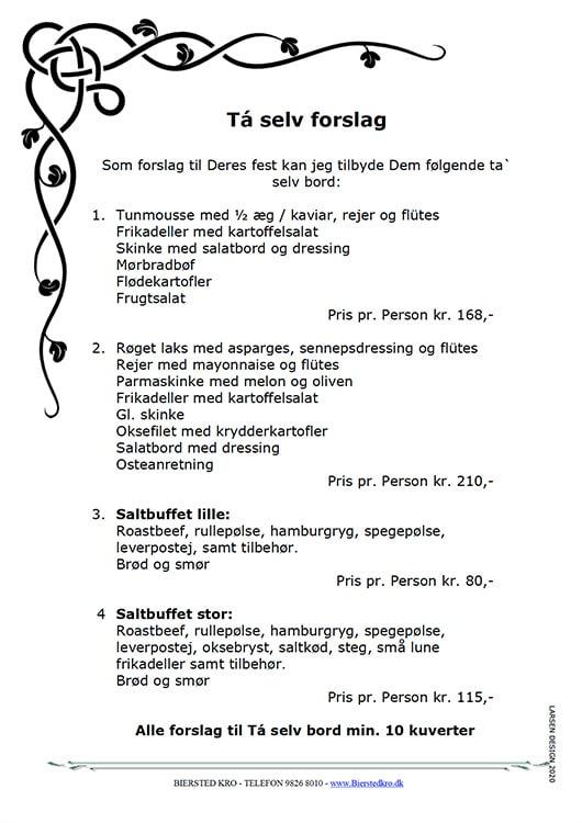 Tagselv mad ud af huset Nørresundby