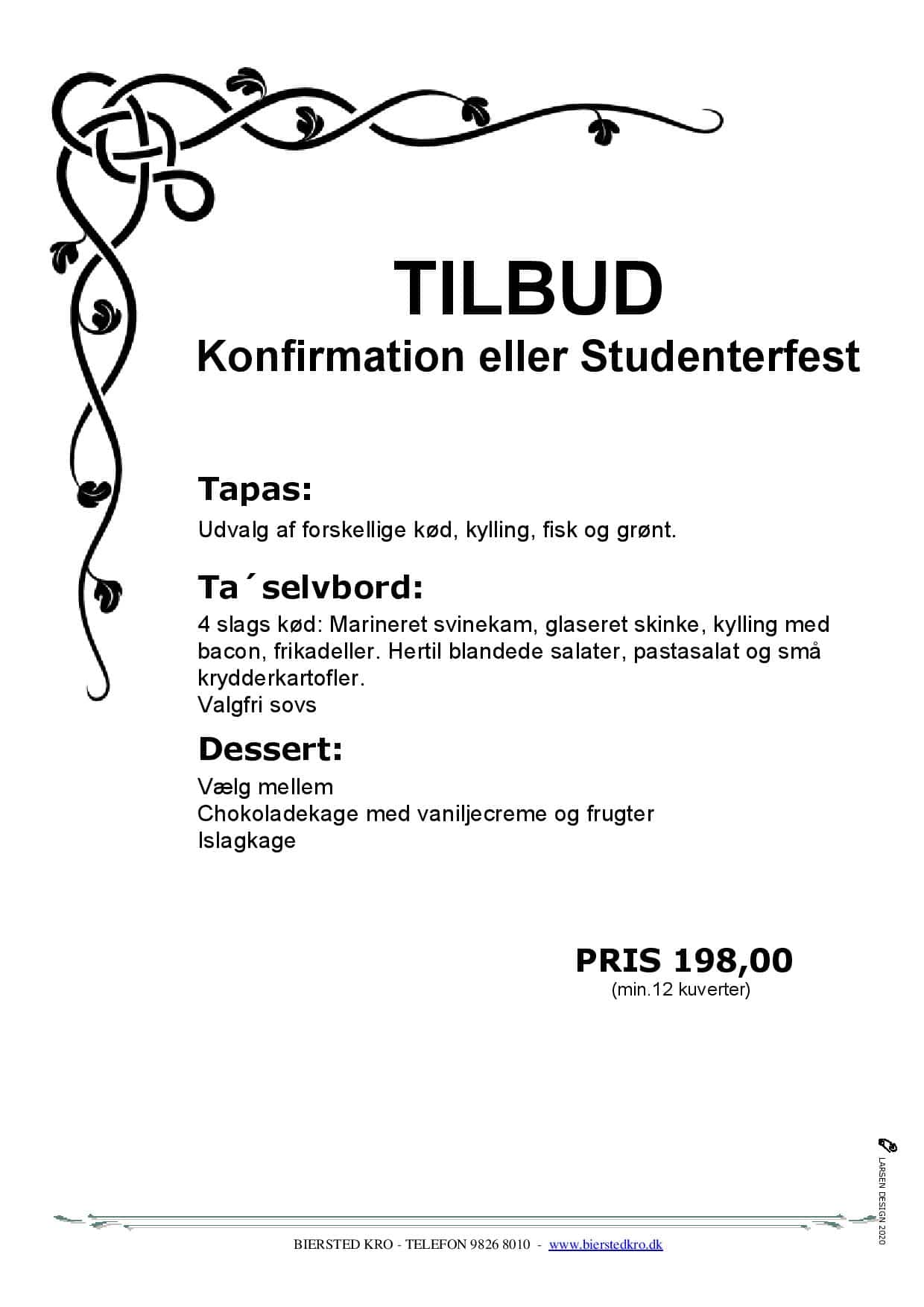 Konfirmation Studenterfest